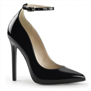 """Pleaser SEXY-23 5"""" Heel Ankle Strap Pointed Toe Pump"""