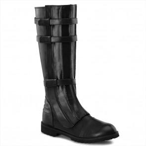 Funtasma WALKER-130 Super Hero Blk Pu Men's Knee Boot