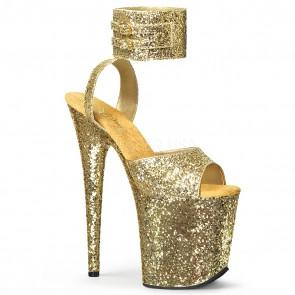 Pleaser FLAMINGO-891LG Gold Glitter/Gold Glitter