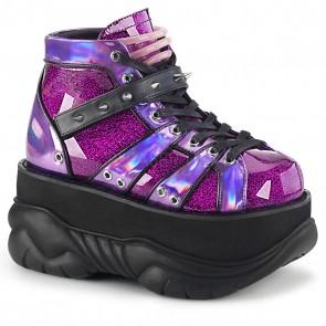 Demonia NEPTUNE-100 Purple Glitter-Hologram