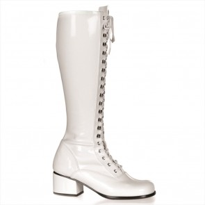 Funtasma RETRO-302 Wht Str Pat