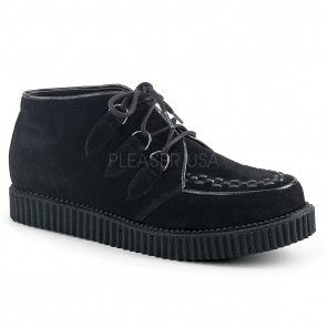 "Demonia V-CRE662/BVS **1"" Platform D-Ring Lace-Up Chukka Creeper"